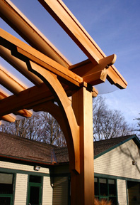 Pergola With Acrylic Panels No App1 By Trellis Structures
